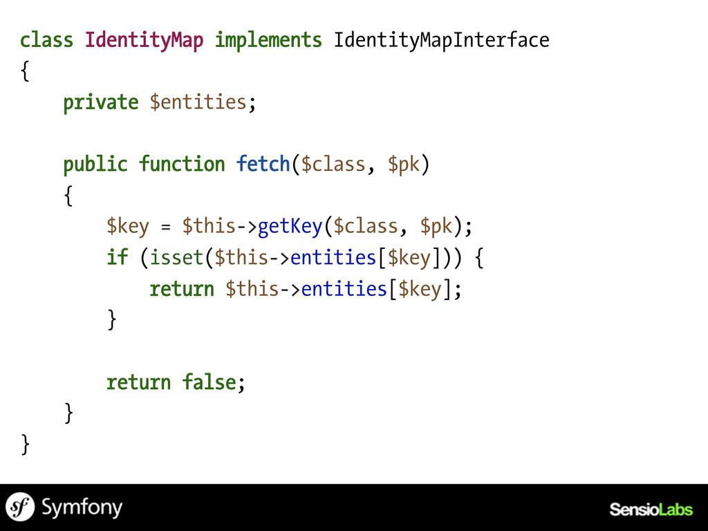 class IdentityMap implements IdentityMapInterfa...