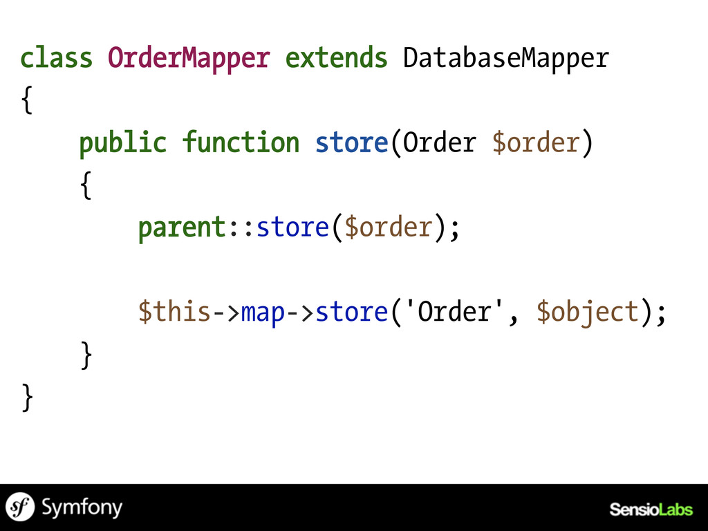 class OrderMapper extends DatabaseMapper { publ...
