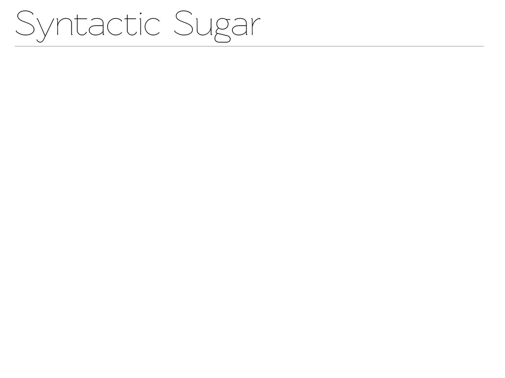 Synactic Sugar