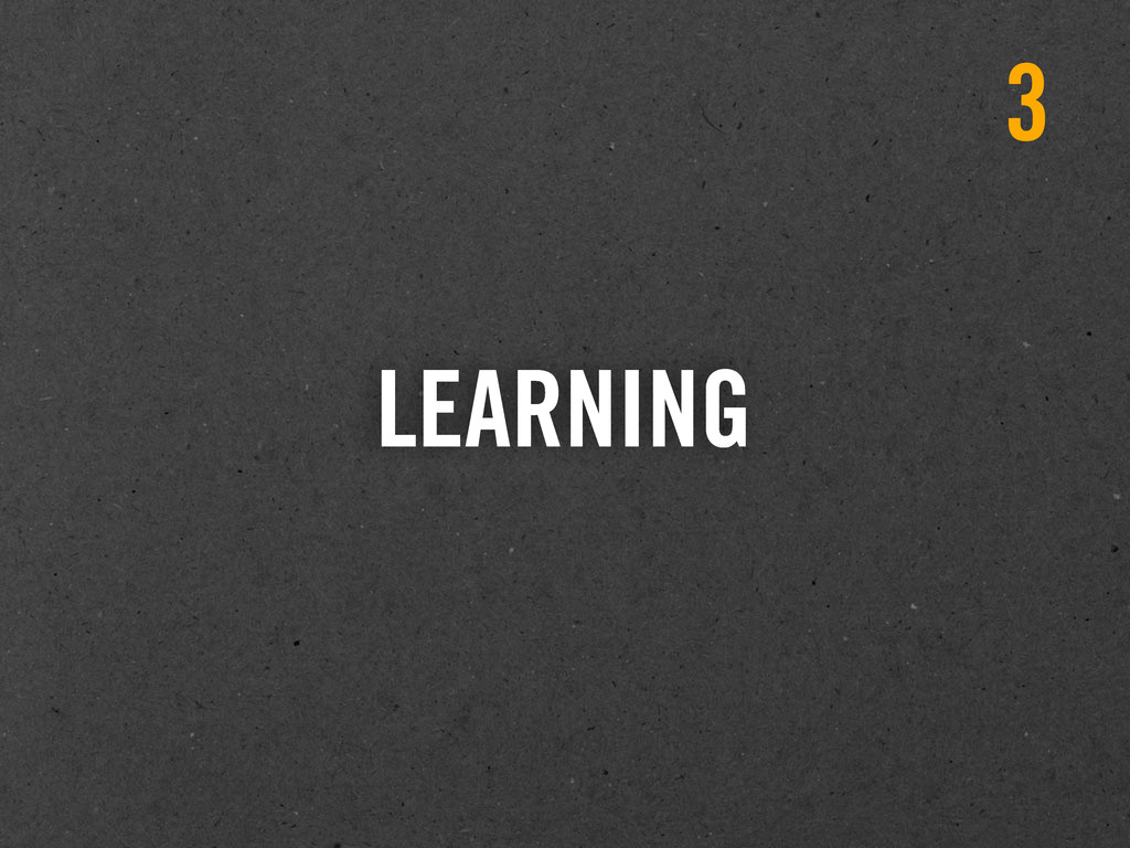LEARNING 3
