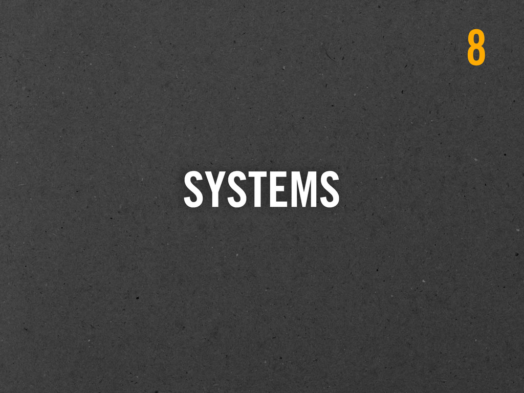 SYSTEMS 8