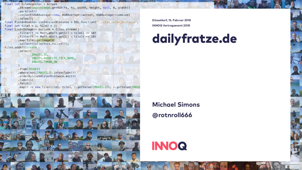 dailyfratze.de  Michael Simons @rotnroll666 Dü...