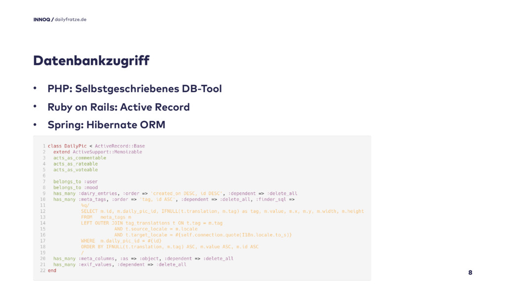 Datenbankzugriff 8 • PHP: Selbstgeschriebenes D...