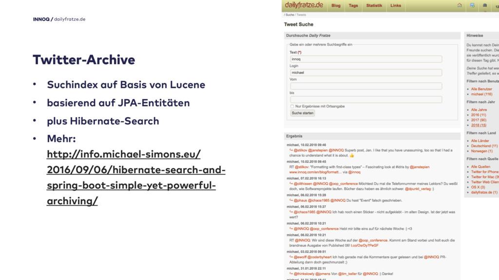 18 dailyfratze.de Twitter-Archive • Suchindex a...