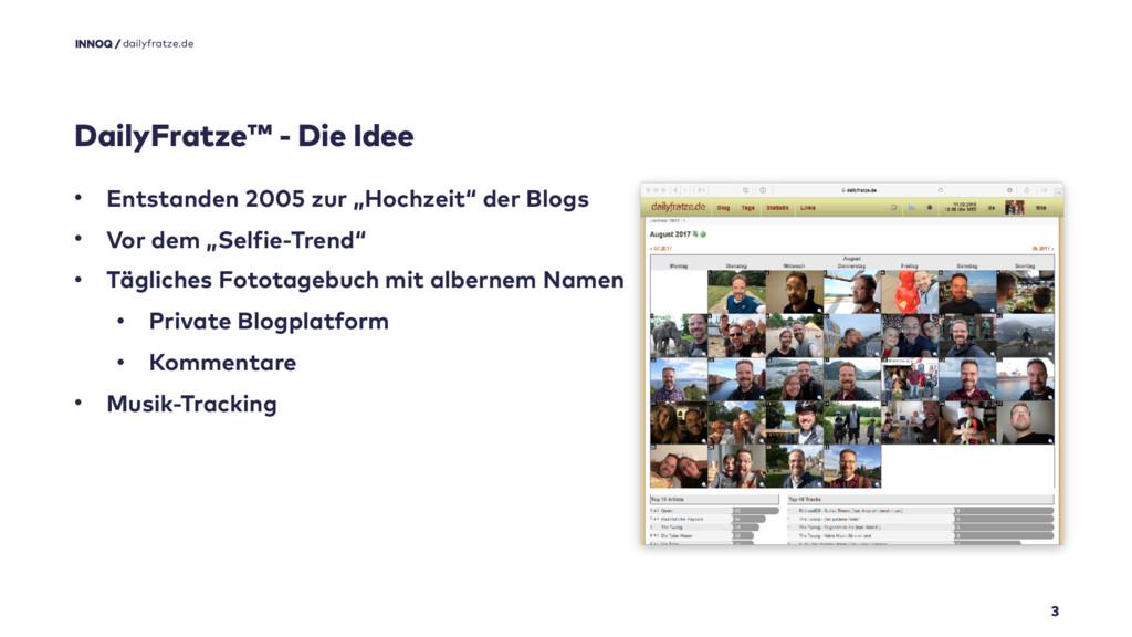 DailyFratze™ - Die Idee 3 • Entstanden 2005 zur...