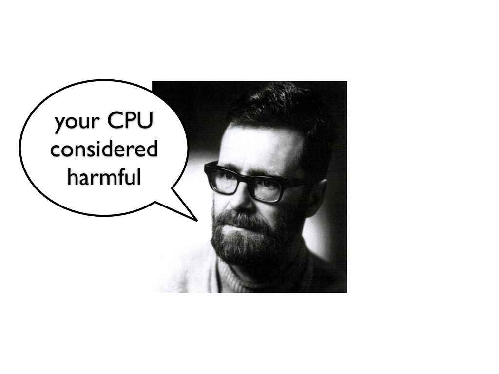 your CPU considered	 