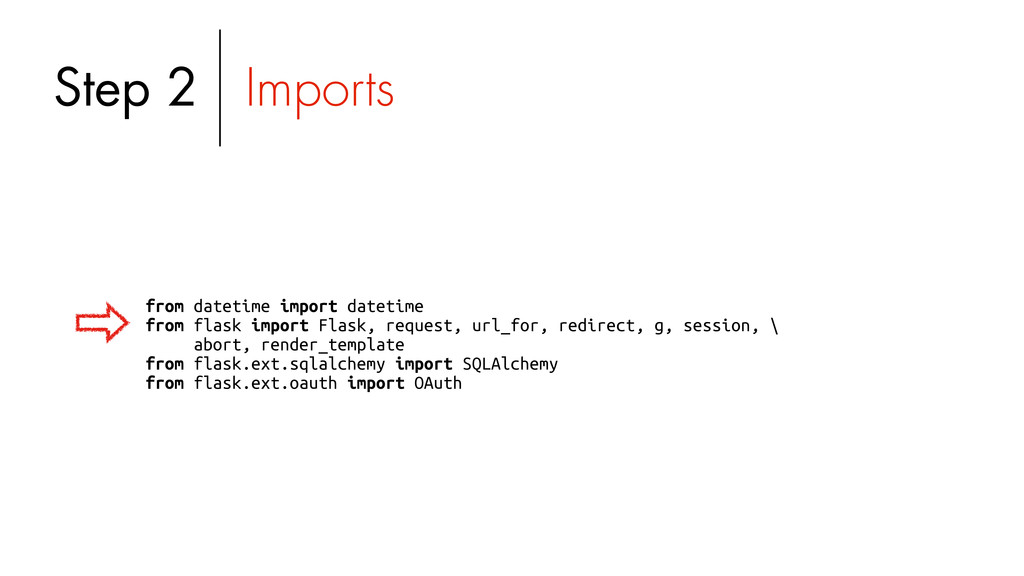 from datetime import datetime from flask import...