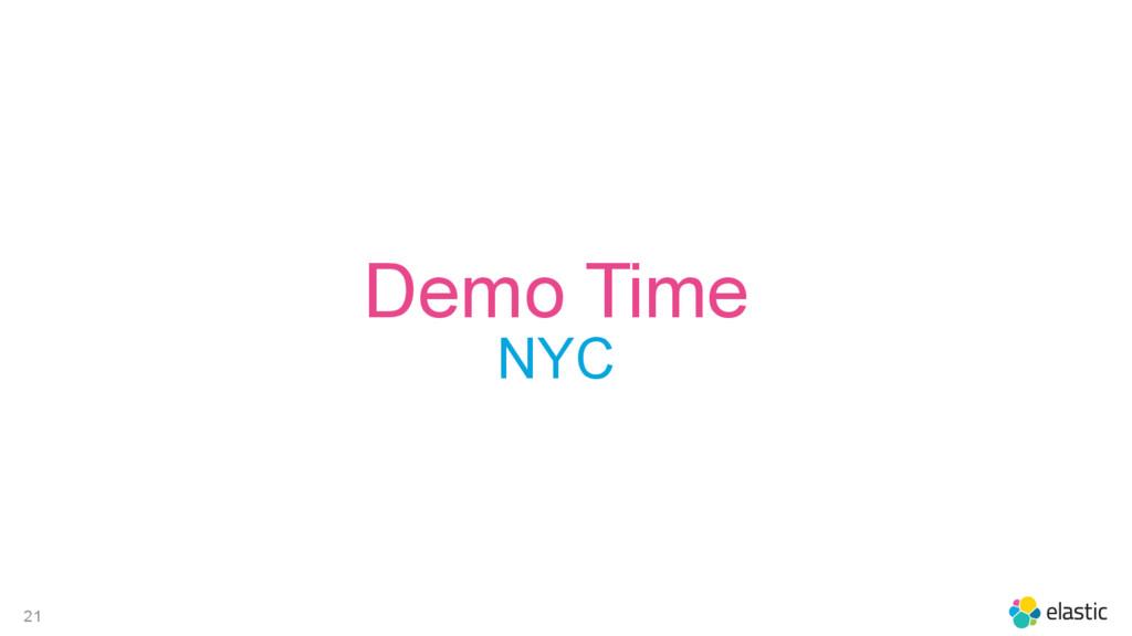 21 Demo Time NYC