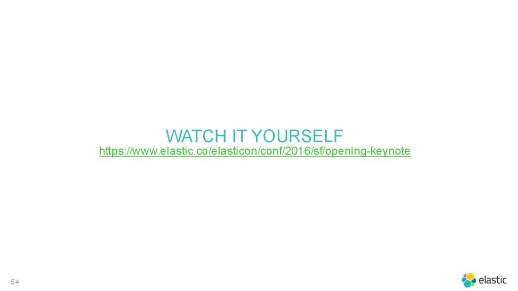 54 WATCH IT YOURSELF https://www.elastic.co/ela...