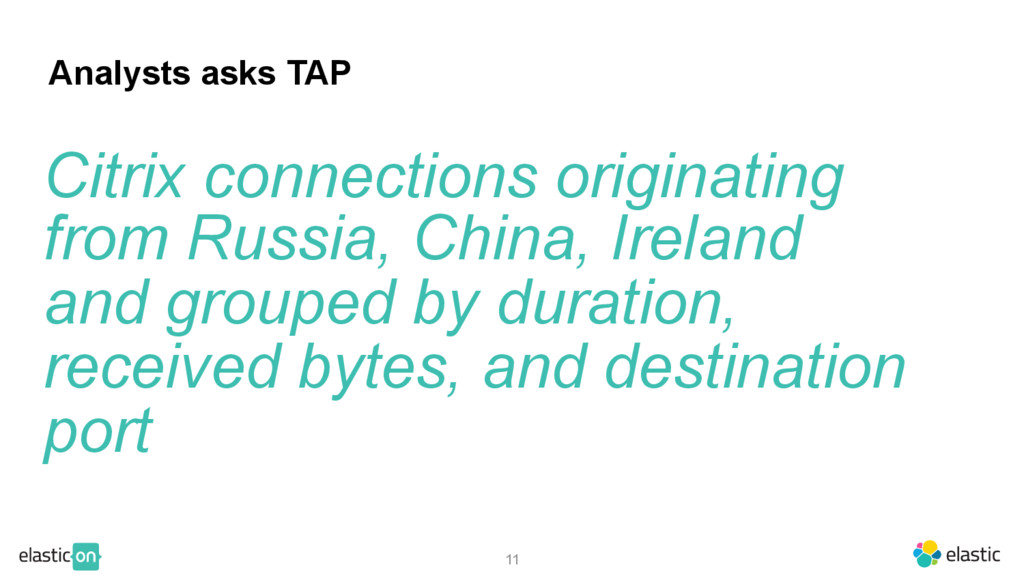 70 11 Analysts asks TAP Citrix connections orig...