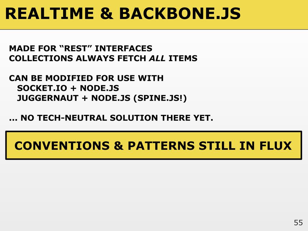 """REALTIME & BACKBONE.JS 55 MADE FOR """"REST"""" INTER..."""