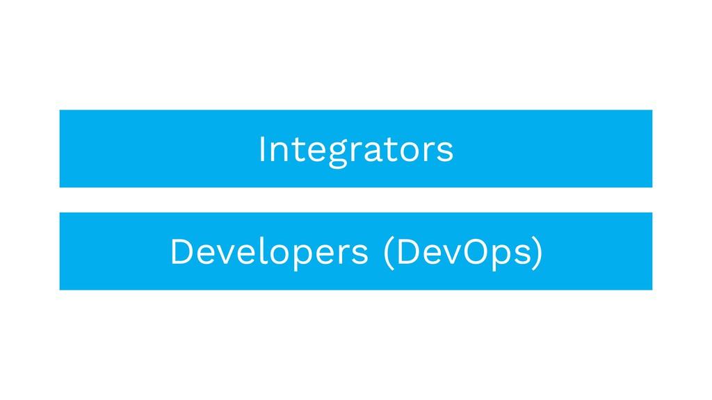 Integrators Developers (DevOps)