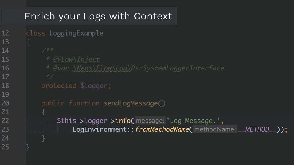 Enrich your Logs with Context