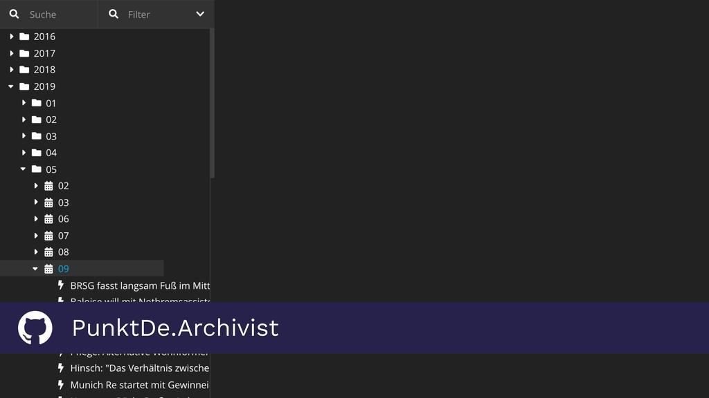 PunktDe.Archivist