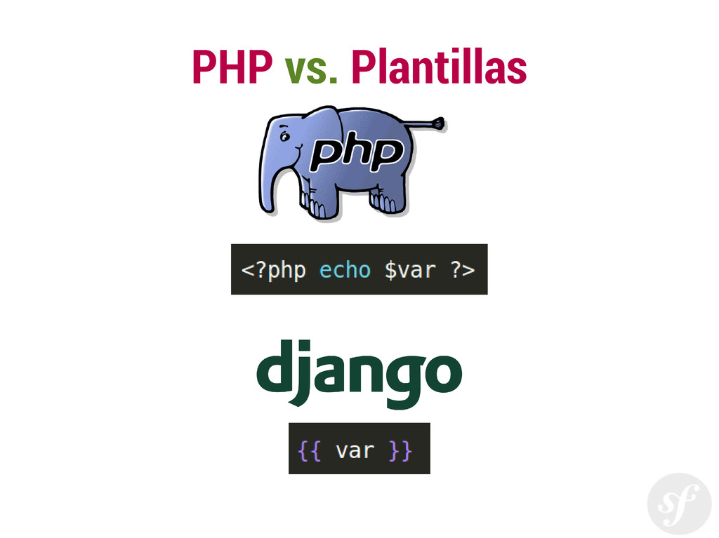 PHP vs. Plantillas