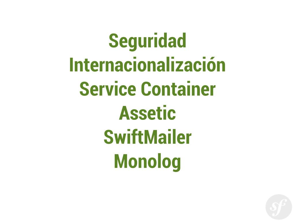 Seguridad Internacionalización Service Containe...