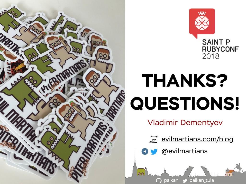 palkan_tula palkan THANKS? QUESTIONS! Vladimir ...