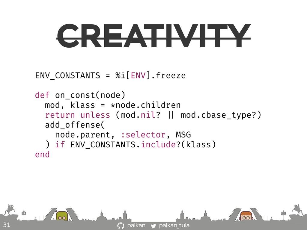 palkan_tula palkan CREATIVITY 31 ENV_CONSTANTS ...
