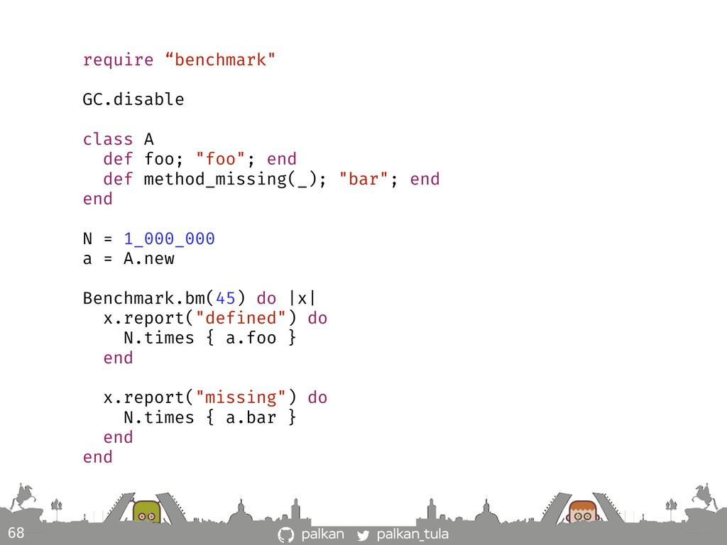 "palkan_tula palkan 68 require ""benchmark"" GC.di..."