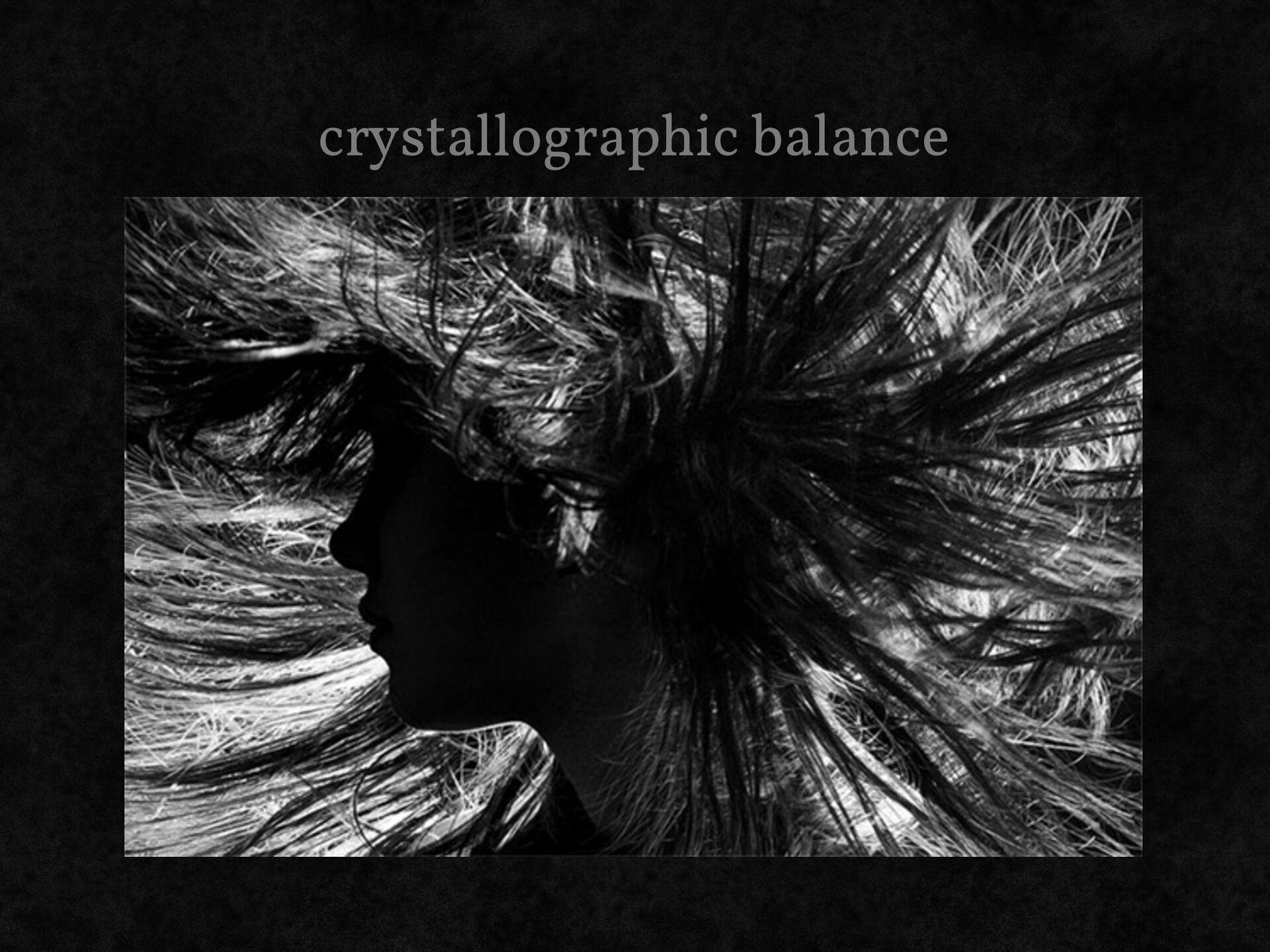 crystallographic balance