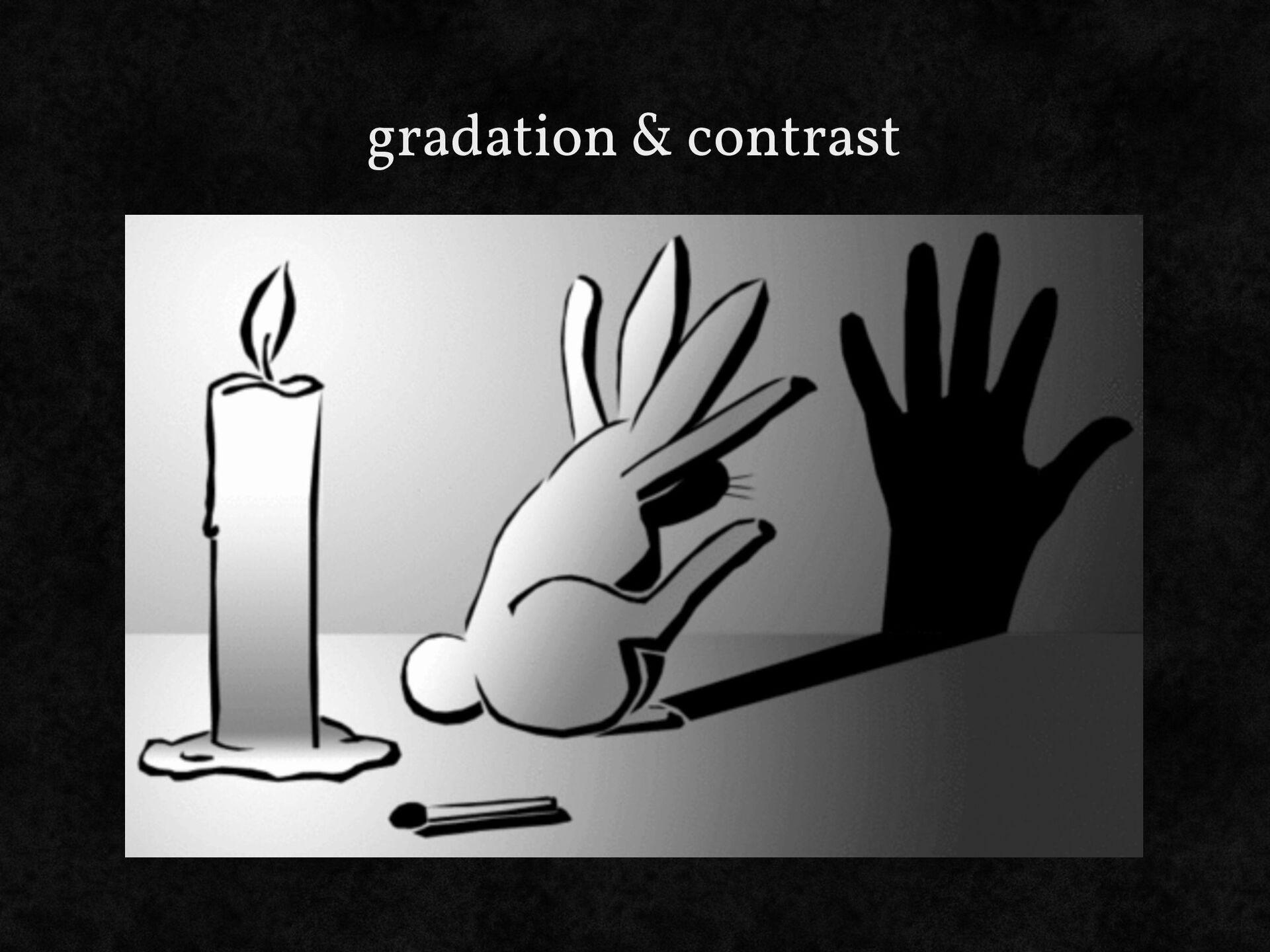gradation & contrast