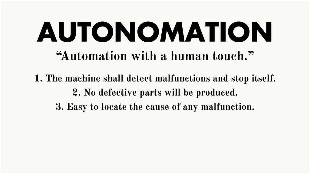 """AUTONOMATION """"Automation with a human touch."""" 1..."""