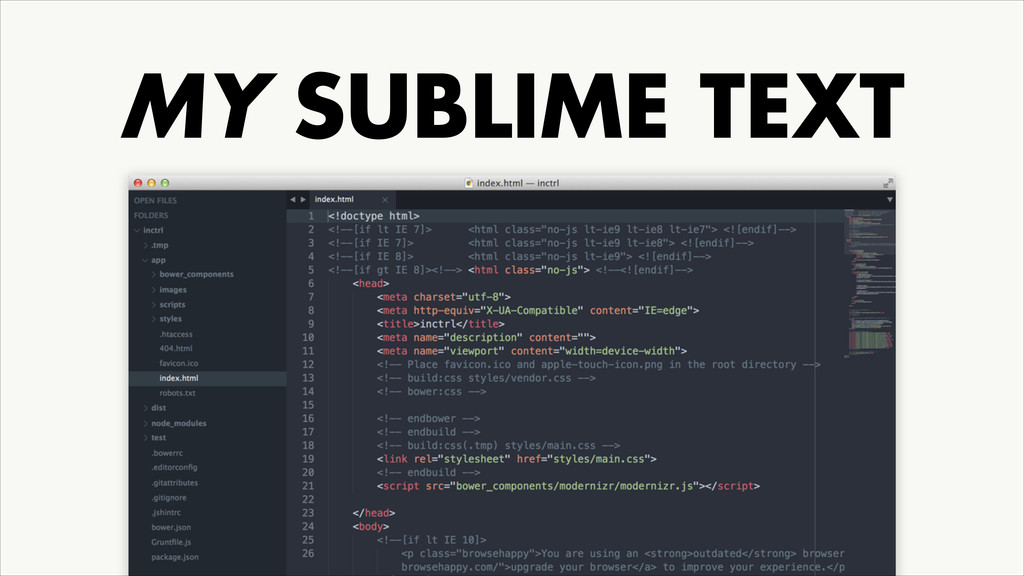 MY SUBLIME TEXT