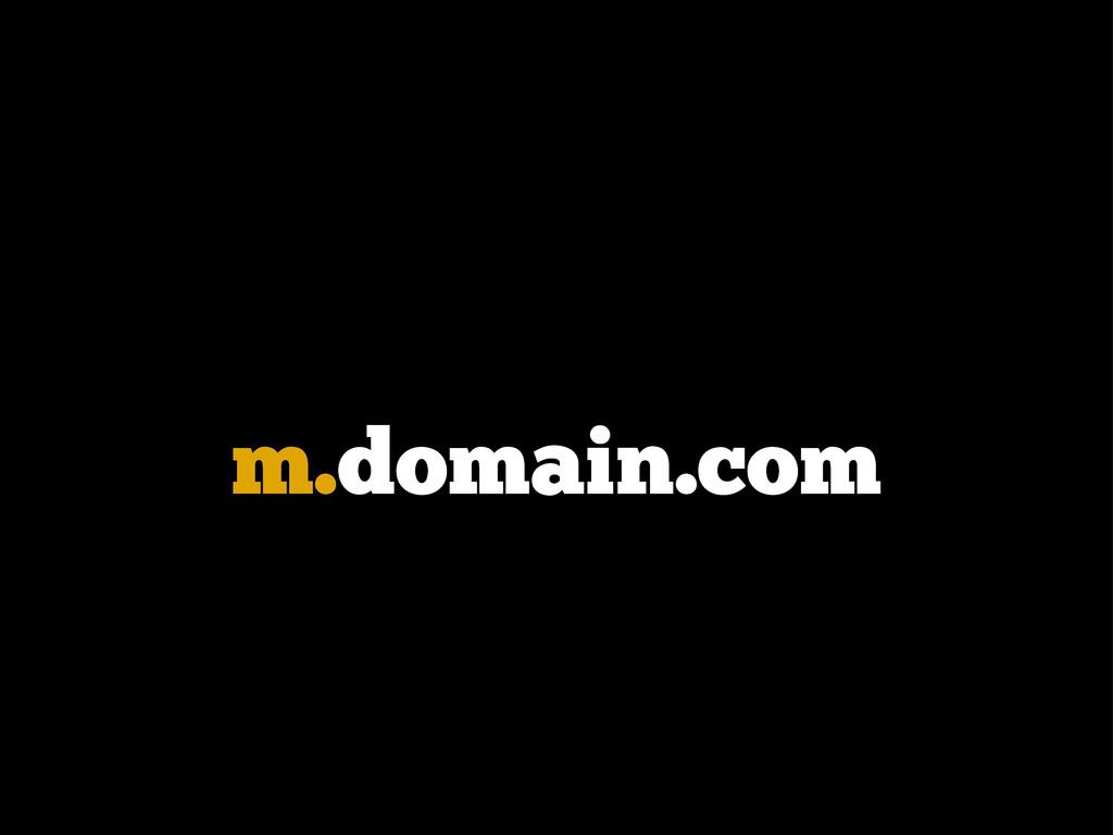 m.domain.com