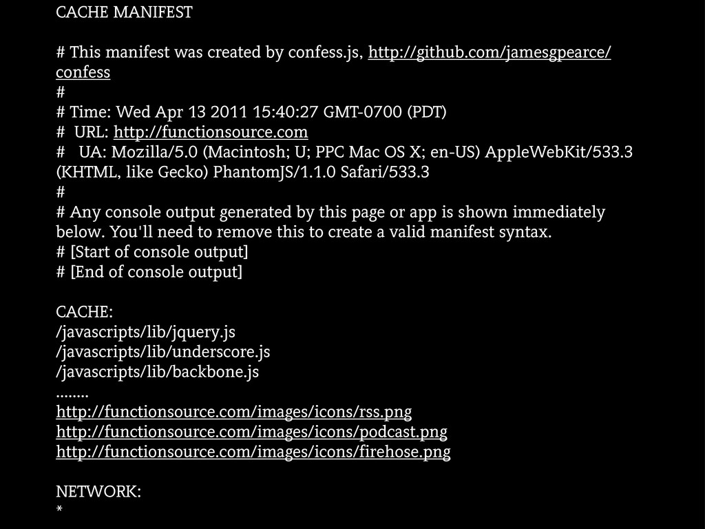 CACHE MANIFEST # This manifest was created by c...