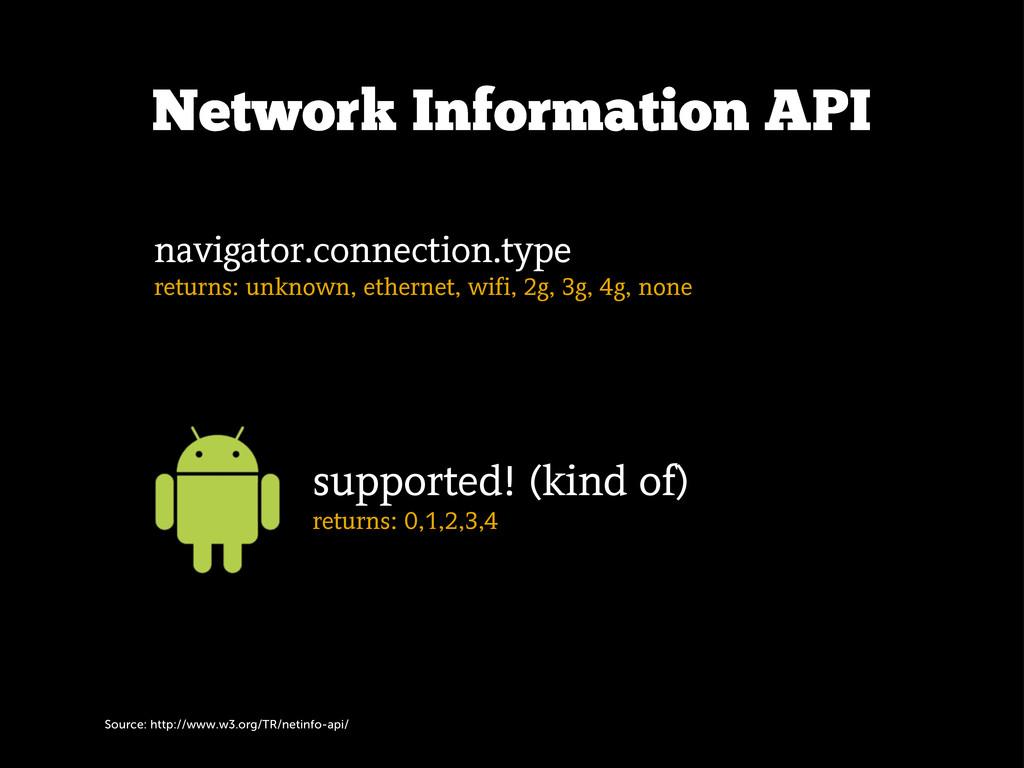 Source: http://www.w3.org/TR/netinfo-api/ Netwo...