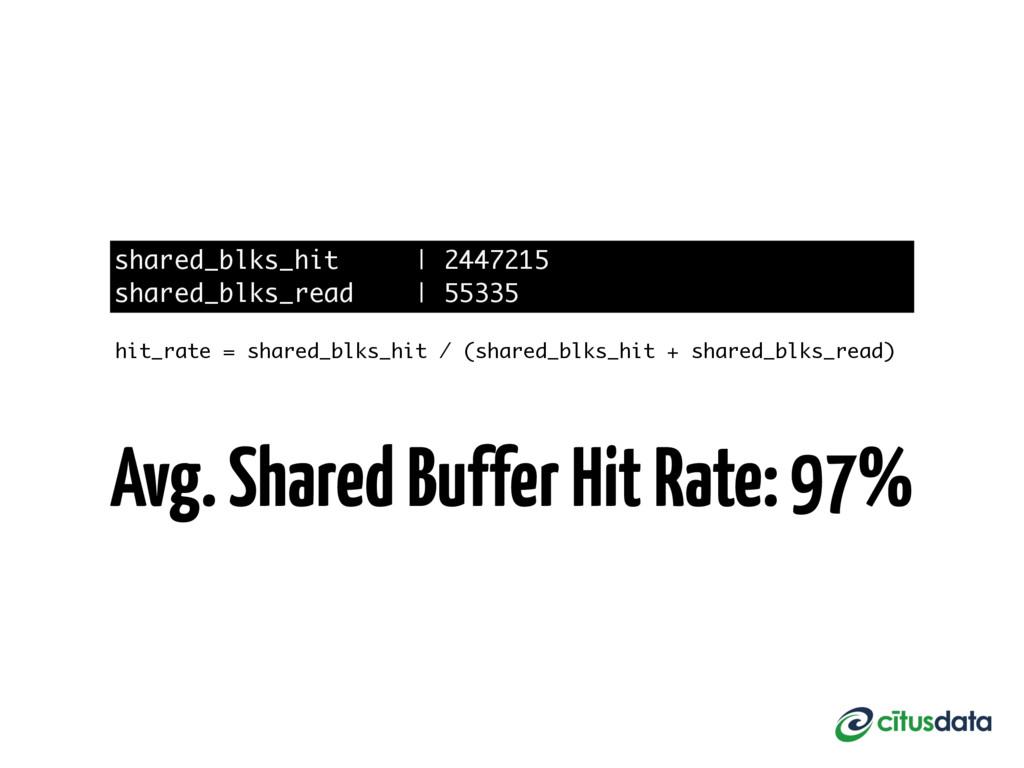 shared_blks_hit   2447215 shared_blks_read   55...
