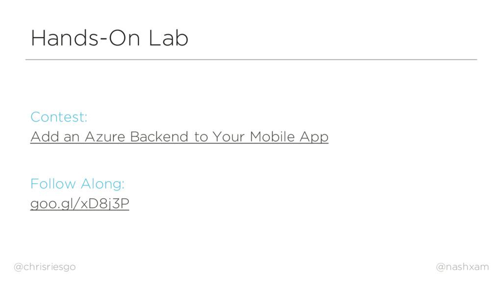 @nashxam Hands-On Lab Contest: Add an Azure Bac...