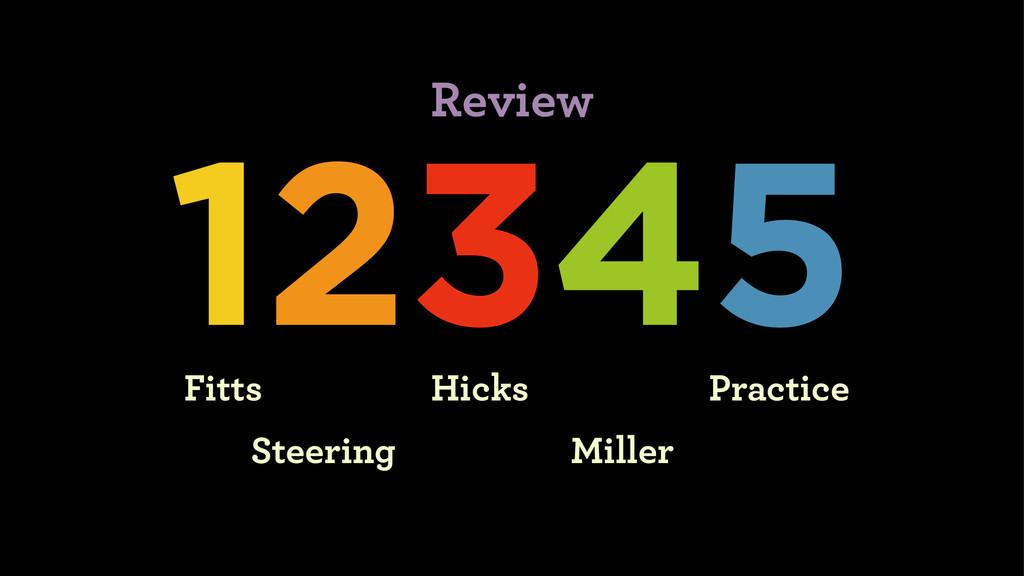 12345 Fitts Steering Hicks Miller Practice Revi...