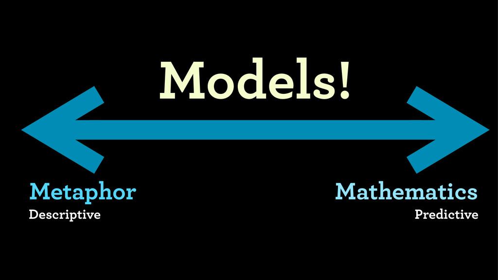 Metaphor Descriptive Mathematics Predictive Mod...