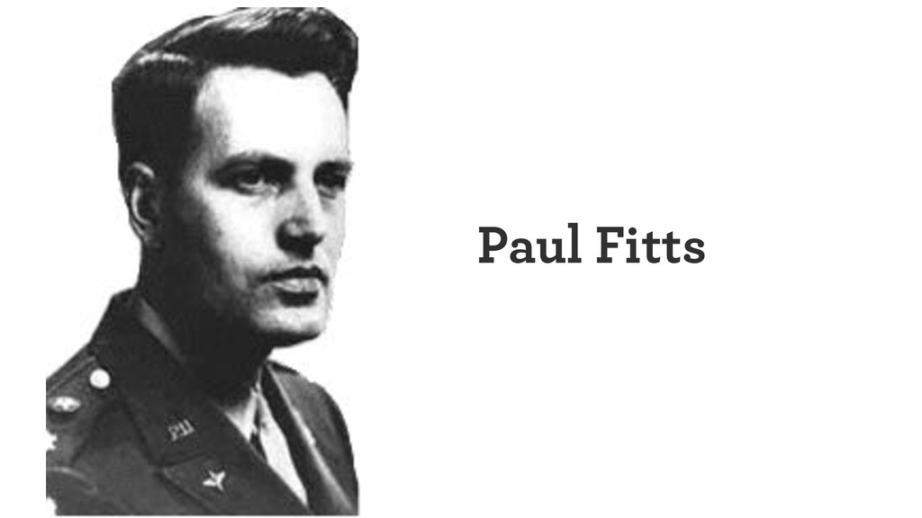 Paul Fitts