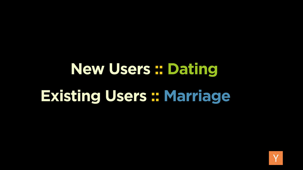 Existing Users :: Marriage New Users :: Dating