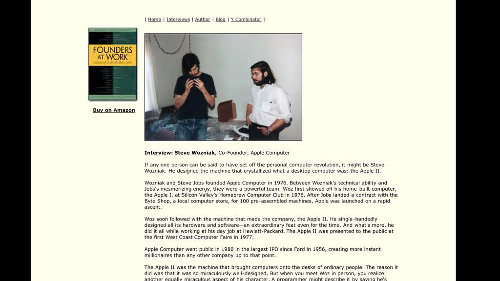 Buy on Amazono | Home | Interviews | Author | B...