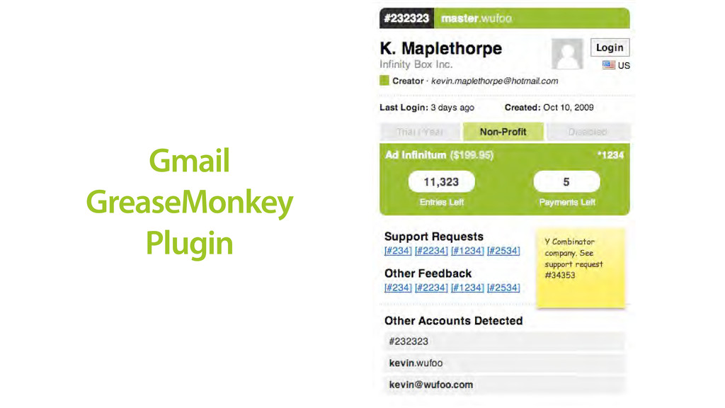 Gmail GreaseMonkey Plugin
