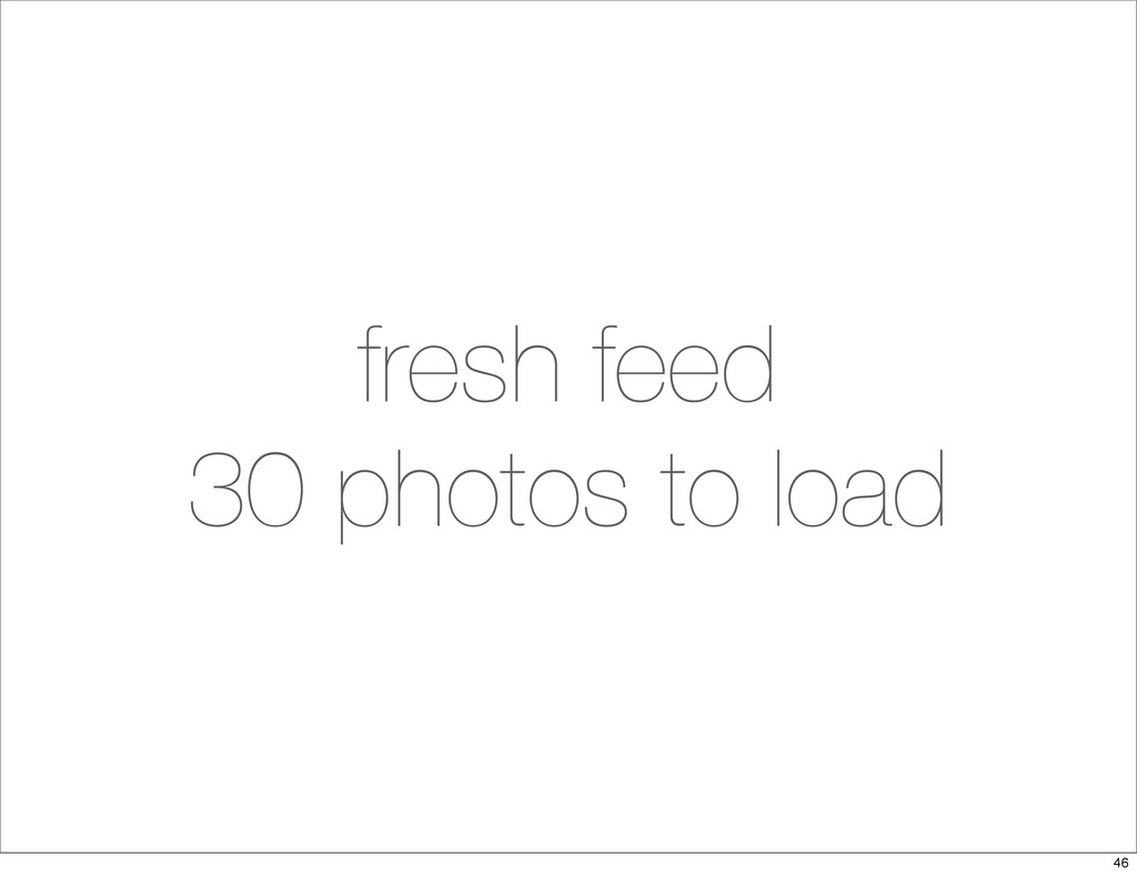 fresh feed 30 photos to load 46