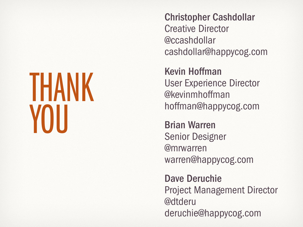Christopher Cashdollar Creative Director @ccash...