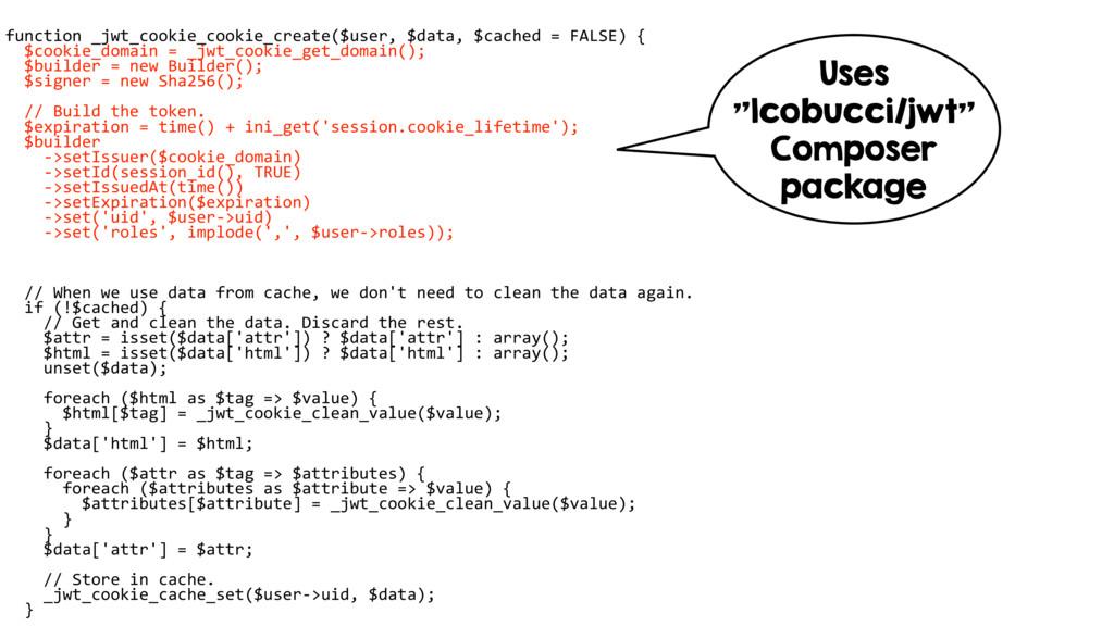 function _jwt_cookie_cookie_create($user, $data...