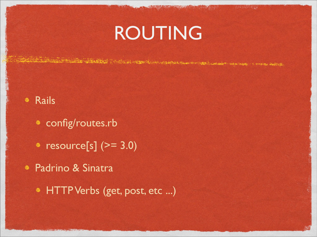 ROUTING Rails config/routes.rb resource[s] (>= 3...