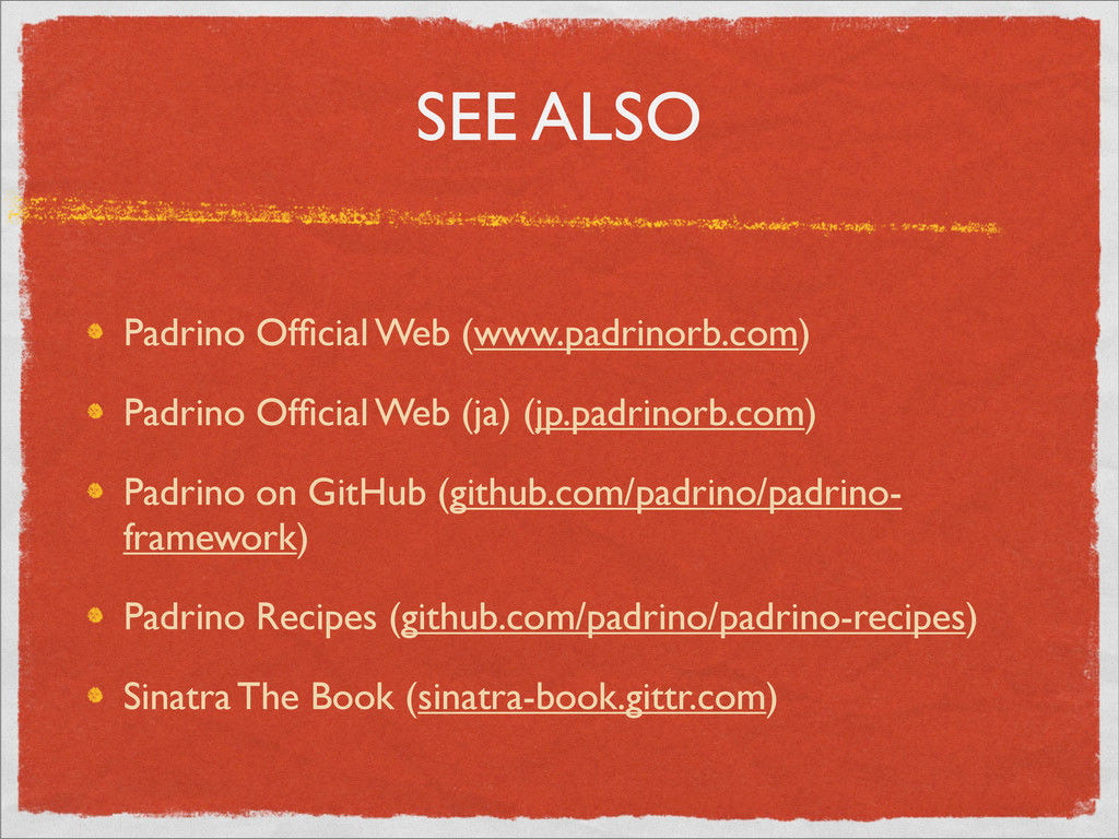 SEE ALSO Padrino Official Web (www.padrinorb.com...