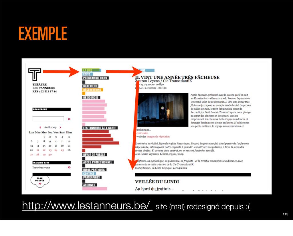 http://www.lestanneurs.be/ site (mal) redesigné...