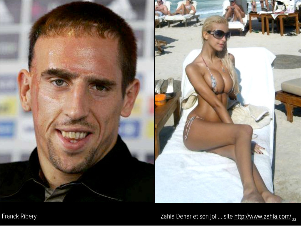 Franck Ribery Zahia Dehar et son joli... site h...