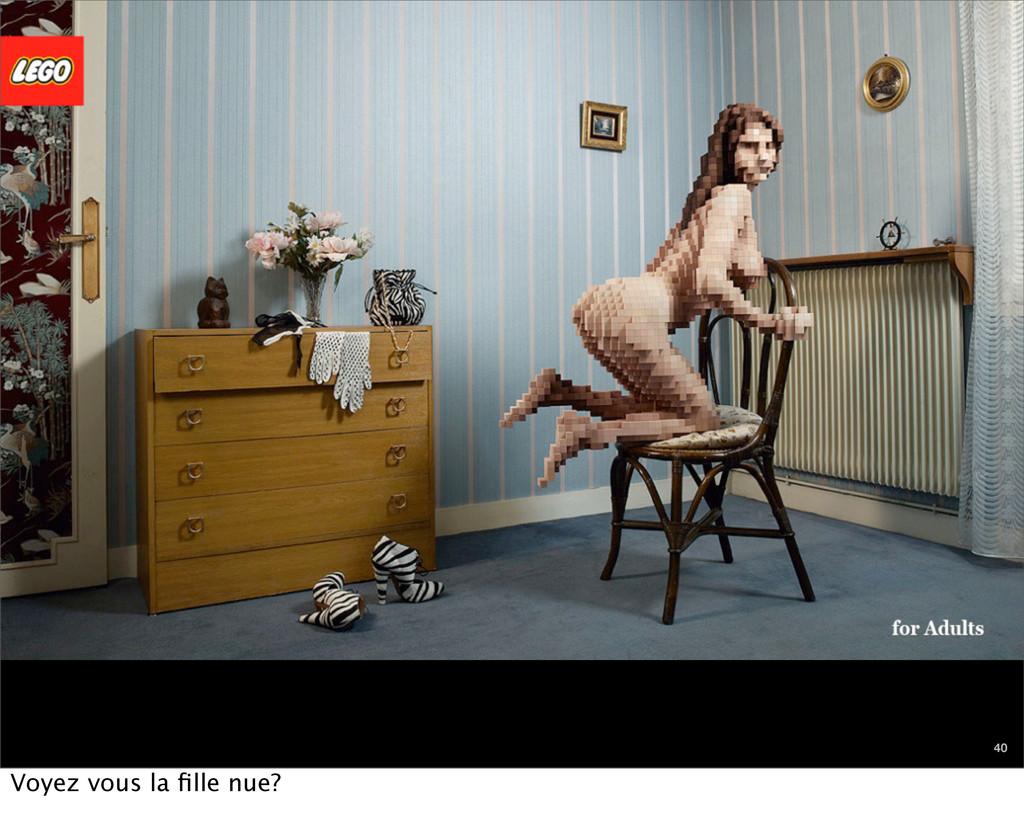 chapitre en cours 40 Voyez vous la fille nue?