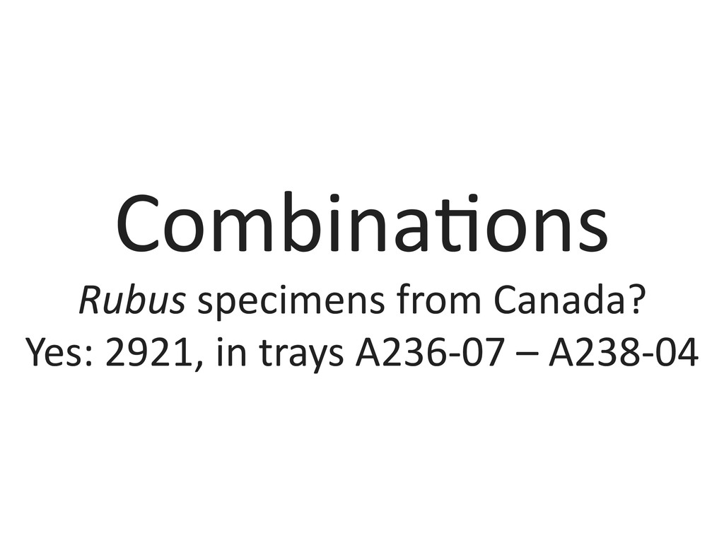 Combina&ons	