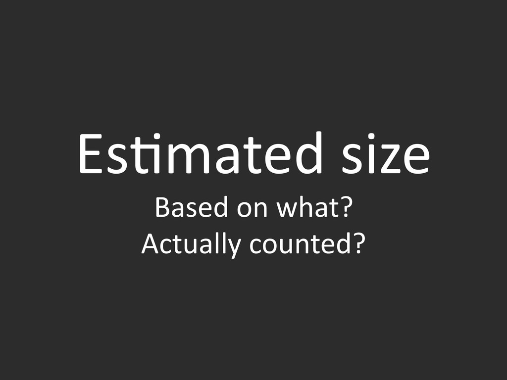 Es&mated	