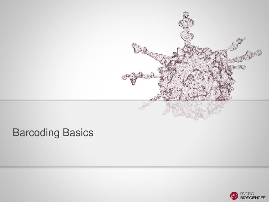 Barcoding Basics