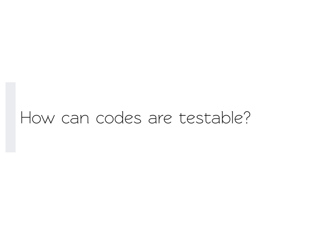 How can codes are esable?